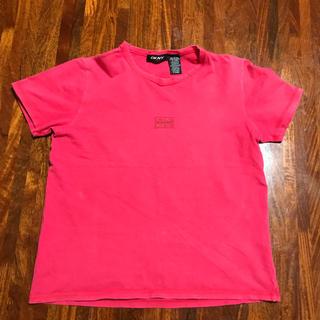 ダナキャランニューヨーク(DKNY)のDKNY Tシャツ 赤(Tシャツ(半袖/袖なし))