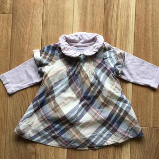 ザラ(ZARA)のベビー チュニックと長袖シャツ 2点セット(Tシャツ)
