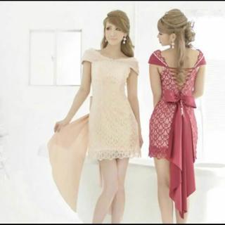 エンジェルアール(AngelR)のバックリボンドレス(ミディアムドレス)