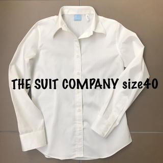 スーツカンパニー(THE SUIT COMPANY)のスーツカンパニー ブラウス シャツ 40 Lサイズ(シャツ/ブラウス(長袖/七分))
