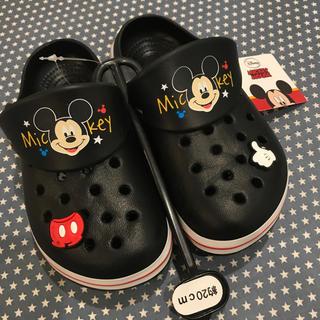 ディズニー(Disney)の新品・未使用 ミッキー キッズ サンダル(サンダル)