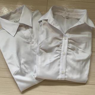 シマムラ(しまむら)の激安 ワイシャツ2枚セット(シャツ)