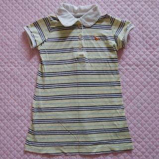 ベルメゾン(ベルメゾン)のベルメゾン GITA ポロシャツ ワンピース 100    #  チュニック(ワンピース)