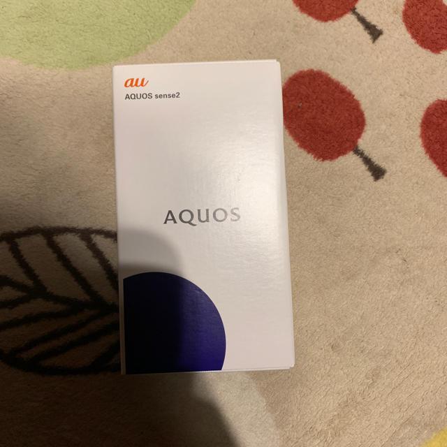 au(エーユー)のAQUOS sense2 au スマホ/家電/カメラのスマートフォン/携帯電話(スマートフォン本体)の商品写真