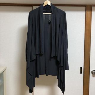 ノーアイディー(NO ID.)の【美品】NO.ID BLACK ショール(カーディガン)