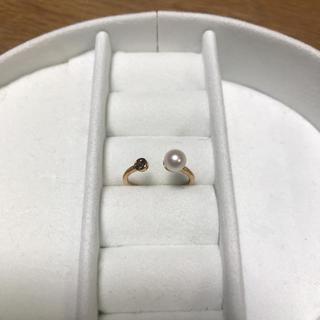 サマンサティアラ(Samantha Tiara)のサマンサティアラ ピンキーリング k10(リング(指輪))