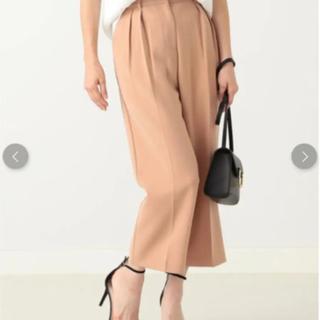デミルクスビームス(Demi-Luxe BEAMS)のDemi-Luxe BEAMS とろみパンツ 美品です(クロップドパンツ)