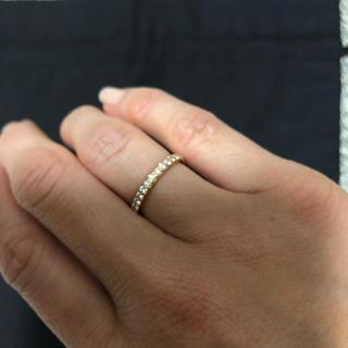 ポンテヴェキオ(PonteVecchio)の【maru-mon様専用】指輪 ハーフエタニティ(リング(指輪))