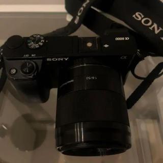 ソニー(SONY)のSONY a6000 ミラーレスカメラ レンズ2個付き(ミラーレス一眼)