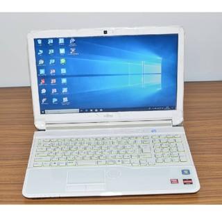 フジツウ(富士通)の最新Win10 新品SSD256 富士通 AH53/H A6-3420M/4GB(ノートPC)