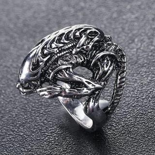 エイリアンリング シルバー メンズリング(リング(指輪))