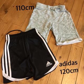 アディダス(adidas)のハーフパンツ 110 120(パンツ/スパッツ)