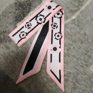 ザラ(ZARA)の新品フラワースカーフ(バンダナ/スカーフ)