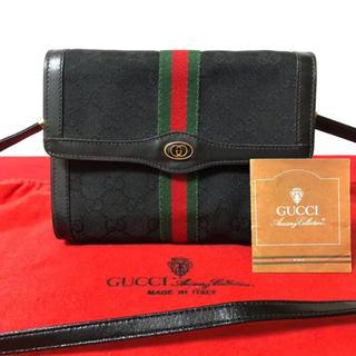 50e5b44949d6 グッチ(Gucci)の極 美品 グッチ オールドグッチ シェリーライン 2way ショルダーバッグ