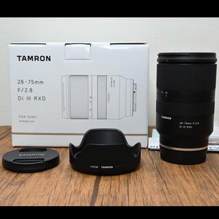 タムロン(TAMRON)の超美品 TAMRON 28 75 2.8 Di III RXD  A036(レンズ(ズーム))