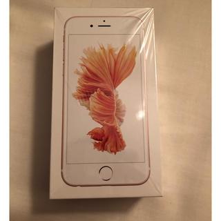 アイフォーン(iPhone)の12時終了 新品 iPhone6S 32GB SIMロック解除 ローズゴールド (スマートフォン本体)