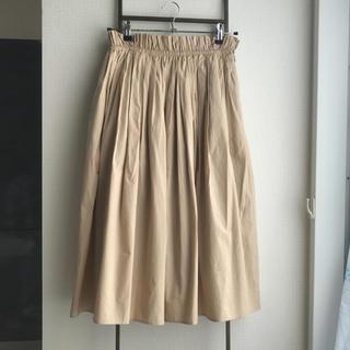 デミルクスビームス(Demi-Luxe BEAMS)のDemi luxe beams コットンフレアスカート(ひざ丈スカート)