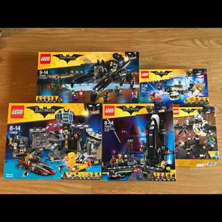 レゴ(Lego)のレゴ バットマンムービー 5箱のセット ミニフィグなし・本体のみ(知育玩具)