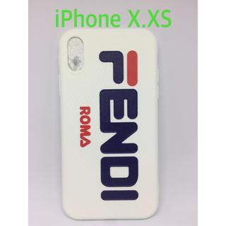 FENDI - 送料無料!新品.FENDI×FILA iPhoneケース X.XS