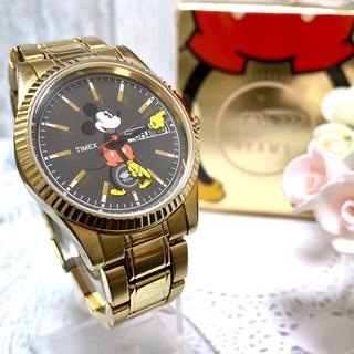 タイメックス(TIMEX)の【美品】TIMEX × BEAMS ビームス タイメックス ミッキー 腕時計(腕時計(アナログ))