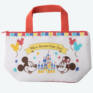 Disney - ミッキー ミニー ランチバッグ