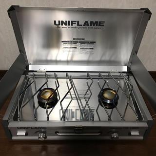 ユニフレーム(UNIFLAME)のユニフレーム UNIFLAME ツインバーナー US-1900(ストーブ/コンロ)