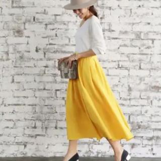 スタイルデリ(STYLE DELI)のスタイルデリ  ロングギャザースカート  美品(ロングスカート)