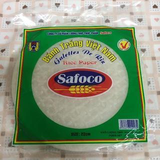 1袋(約30枚)ベトナム safoco 生春巻(米/穀物)