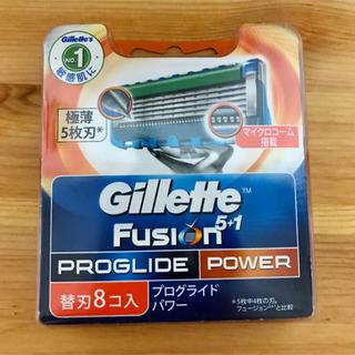 ジレ(gilet)のジレット プログライドパワー替刃8個(メンズシェーバー)