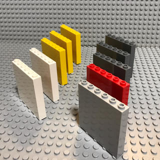 レゴ(Lego)のLEGO レゴ パネル 10個セット 1×6×6(知育玩具)
