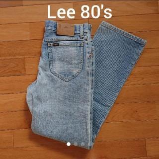 リー(Lee)の1980年代 Lee デニム ジーンズ メンズ29インチ(デニム/ジーンズ)