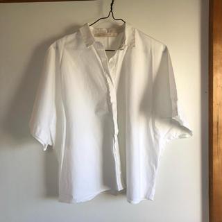 ザラ(ZARA)のZARA  美品シャツ ブラウス(シャツ/ブラウス(半袖/袖なし))