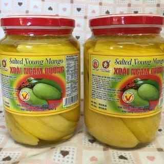 ベトナム食材 2本 塩漬けマンゴ(米/穀物)