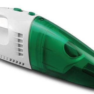 大人気!!充電池式ウエット&ドライハンディクリーナー グリーン(掃除機)