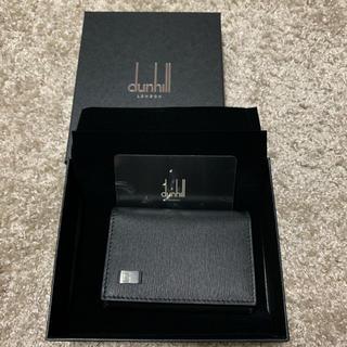 黒系 美品 送料無料 ブラック系 6連 メンズキーケース フック付 レザー キーケース [中古] dunhill PVC USED品 ダンヒル 男性用キーケース