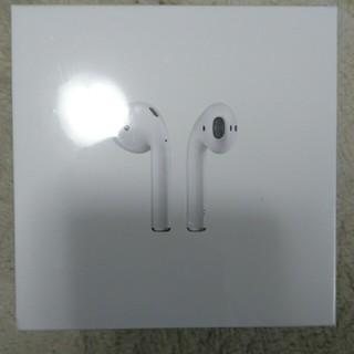 【新品】airpods(ヘッドフォン/イヤフォン)