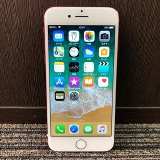 アイフォーン(iPhone)のiPhone7 128gb au REDproduct(スマートフォン本体)