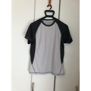 ジーユー(GU)のジーユースポーツ♡Tシャツ♡グレー(ウェア)