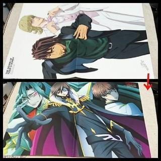 【セール】【切り抜き】  TIGER & BUNNY & コードギアス ポスター