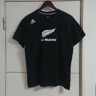 アディダス(adidas)のadidas アディダス Tシャツ ラグビー オールブラックス(ラグビー)