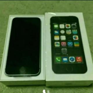 アップル(Apple)の新品 softbank iphone5s 16GB グレー(スマートフォン本体)