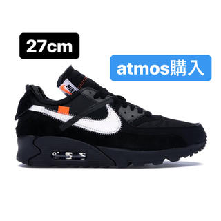 NIKE -  NIKE OFF-White THE TEN AIR MAX 90 27cm