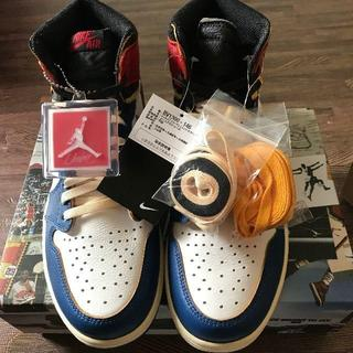 Nike Union Air Jordan 1 Blue (スニーカー)