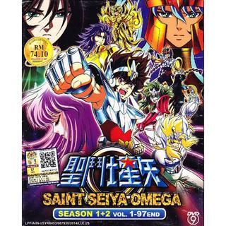 聖闘士星矢 オメガ DVD BOX フルエピソード収録 1~97話 海外版