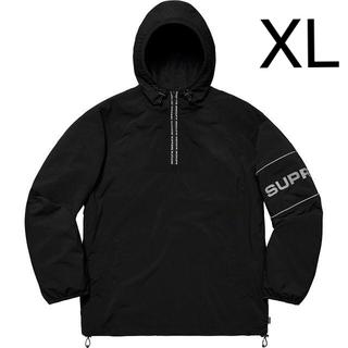 Supreme - 【XL】SUPREME Nylon Ripstop Pullover 黒
