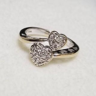 《中古》K18 ダイヤモンド リング(リング(指輪))
