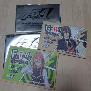 セガ(SEGA)のペルソナ5 ビジュアル色紙2枚(キャラクターグッズ)