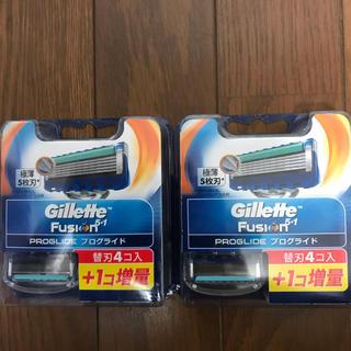 ジレ(gilet)のジレット フュージョン5+1 プログライド 替刃合計10個(日用品/生活雑貨)