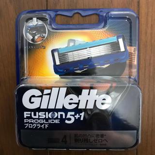 ジレ(gilet)のジレット フュージョン5+1 プログライド NEWパッケージ 替刃4個入(日用品/生活雑貨)