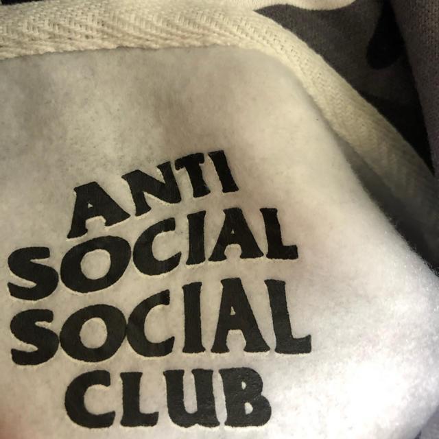 ANTI(アンチ)のAnti Social Social Club (ASSC) パーカー 迷彩 メンズのトップス(パーカー)の商品写真